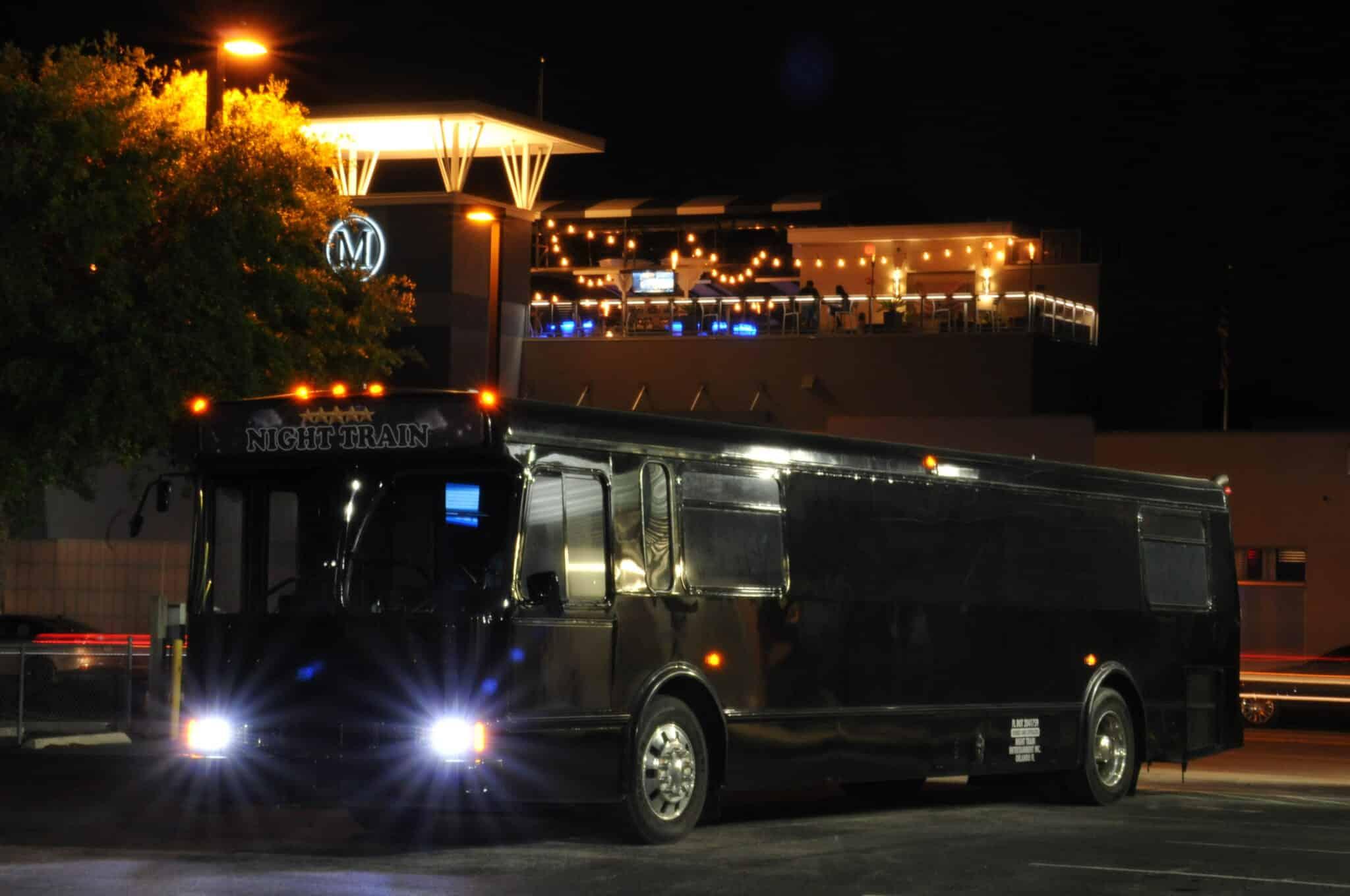 Night Train Party Bus IDrive