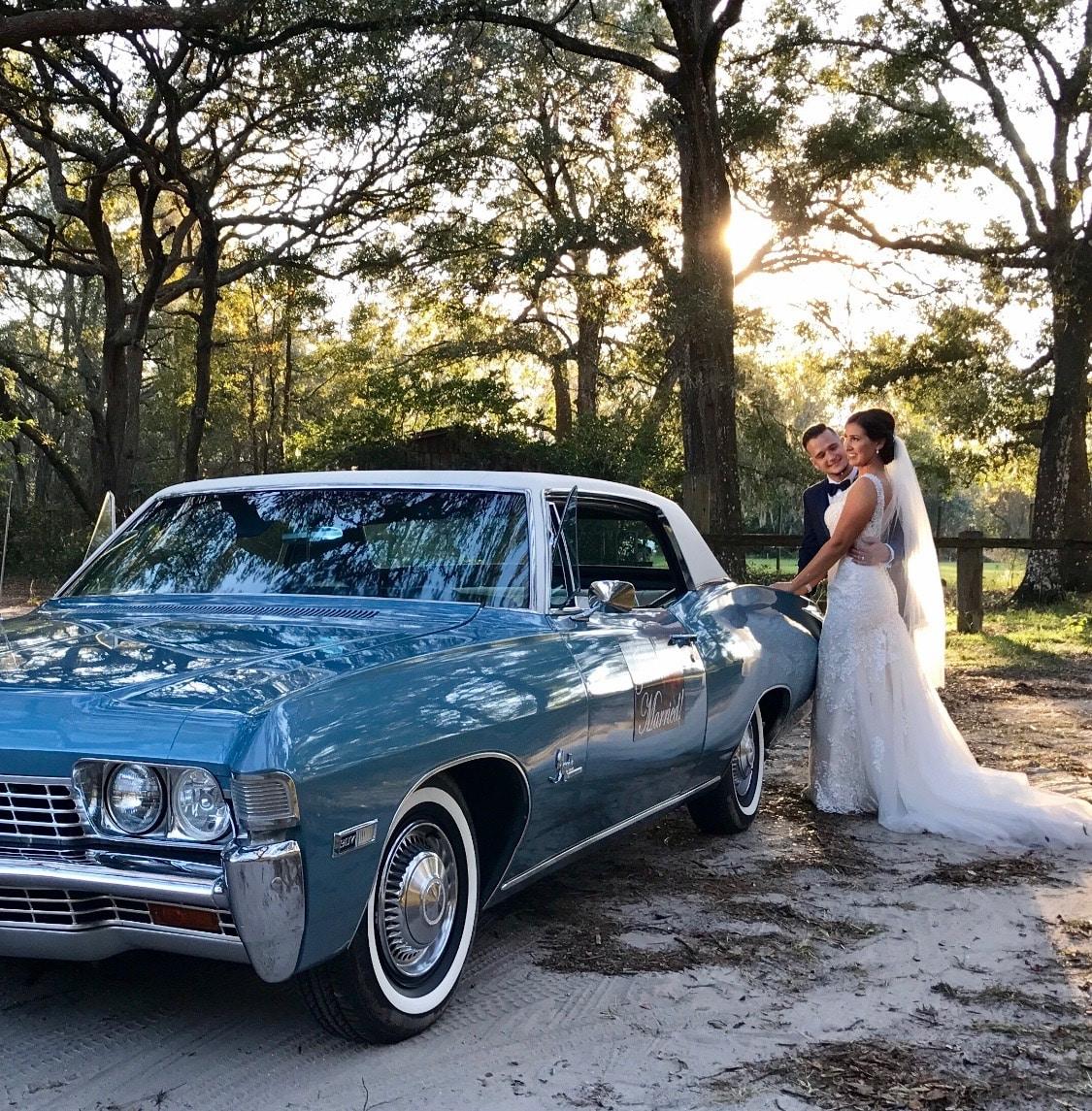 68 Chevy Impala Light Blue