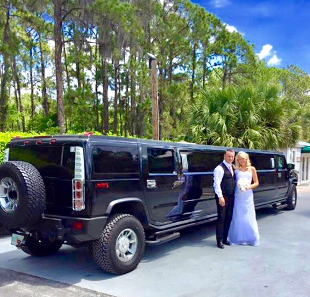 Hummer Limo Wedding