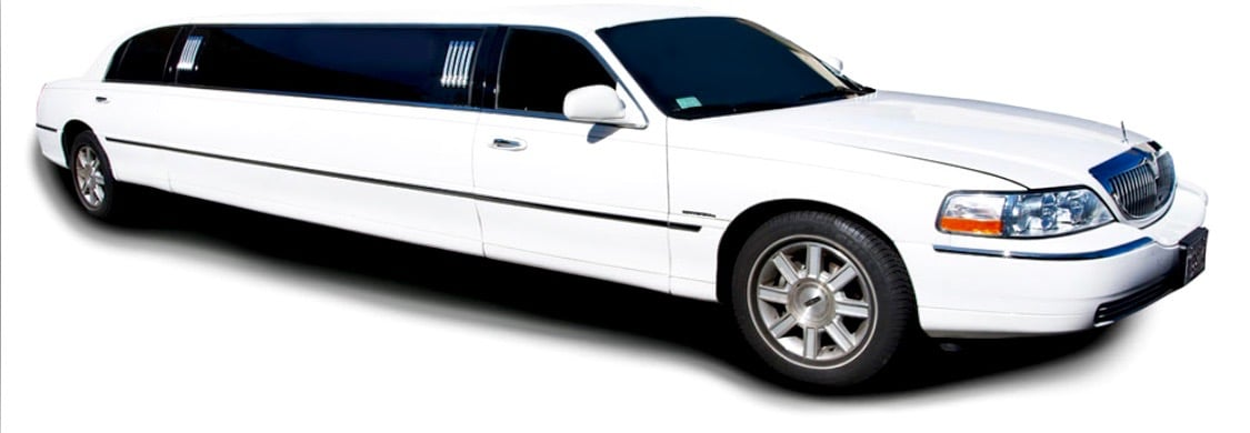 Lincoln 10 Passenger (White)
